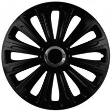 Колпаки колеса ГАЗ-3302 4 штуки комплект черные