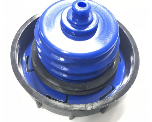 Крышка бензобака ГАЗ-3302 с клапаном мет.бак  60л синяя Е-3
