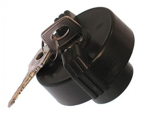 Крышка бензобака с ключом ГАЗ-3302 штатная пластик