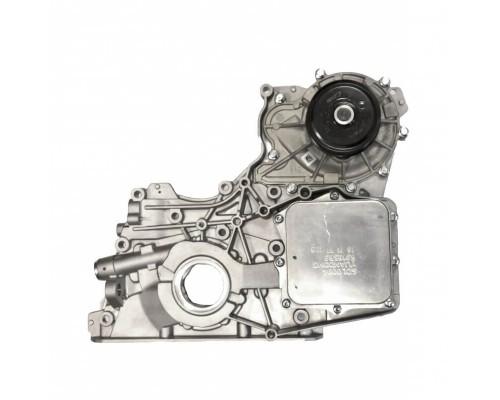 Крышка двигателя передняя ГАЗ ДВС Камминз с масл.насосом Е-3