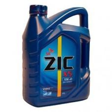 Масло моторное ZIC X5 п/синтетика бензин 10W-40 6л
