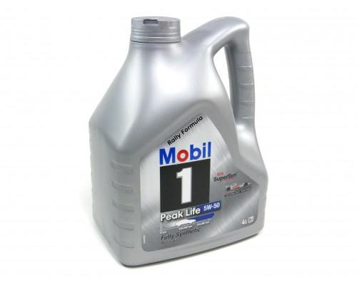 Масло моторное Mobil синтетика 5W-50  4 л