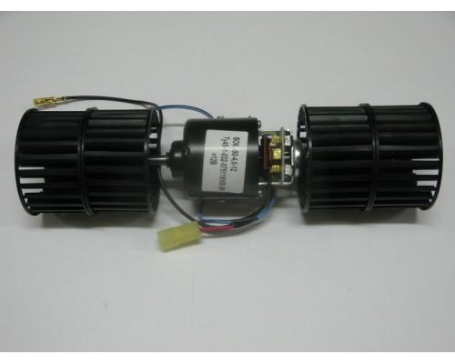 Мотор отопителя ГАЗ-3302 Бизнес на доп.отопитель 2 крыльчатк