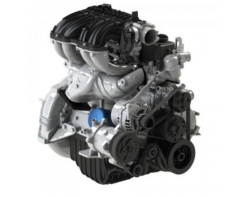 Двигатель ГАЗ-3302 ДВС A21R23 дв. Evotech 2.7