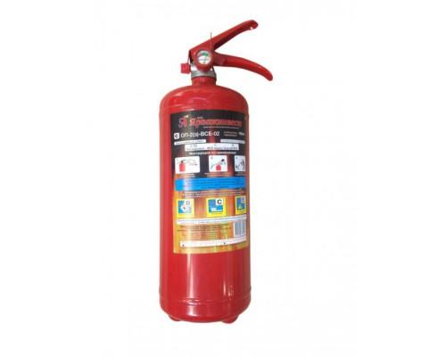 Огнетушитель порошковый с манометром 2 кг