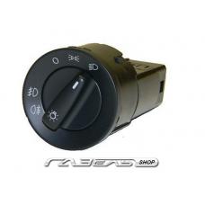 Переключатель света центральный ГАЗ-3302 н/о черный