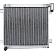 Радиатор водяной 2х ряд мед ГАЗ-3302 ДВС Камминз Иран (без интеркулера)