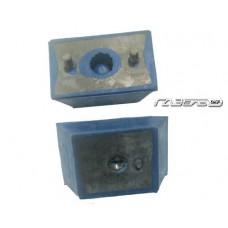 Подушка двигателя ГАЗ-3102,3302 синяя Вулкан