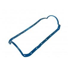 Прокладка поддона УАЗ ДВС 4216 Е-3,4 силикон синяя с шайбами