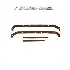Прокладка поддона УАЗ ДВС 4216 Е-4 резина-пробка черная к-т