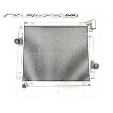 Радиатор водяной 2х ряд алюм ГАЗ-3302 Камминз б/интер Ноколо