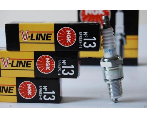 Свеча зажигания ГАЗ ДВС 4216 NGK №13 к-кт 4 шт.