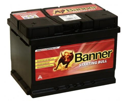Аккумуляторная батарея BANNER Starting Bull 562 08 6CT-62низ