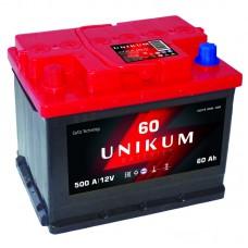 Аккумуляторная батарея UNIKUM 6CT-60 1000 R