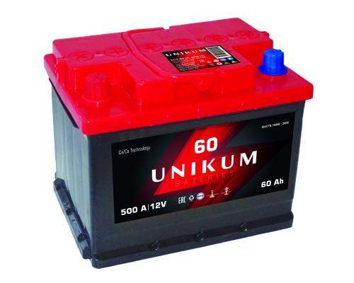 Аккумуляторная батарея UNIKUM 6CT-60 1100 E