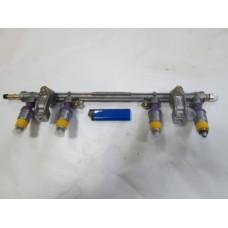 Топливопровод ГАЗ ДВС УМЗ 4216 Е-3 ПЕКАР быстросъем с форсун