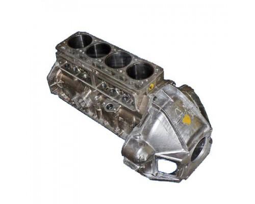 Блок цилиндров с картером ГАЗ ДВС УМЗ-4216 Евро-4 с селективн.поршнями к-т
