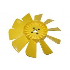 Вентилятор ГАЗ-3302 11-ти лопастной желтый