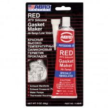Герметик силиконовый ABRO красный 85 г.