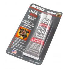 Герметик силиконовый ABRO серый 85 г. №999