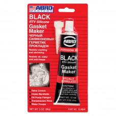 Герметик силиконовый ABRO черный 85 г