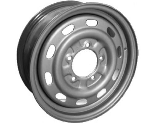 Диск колеса ГАЗ-2217 Н.Новгород серебро