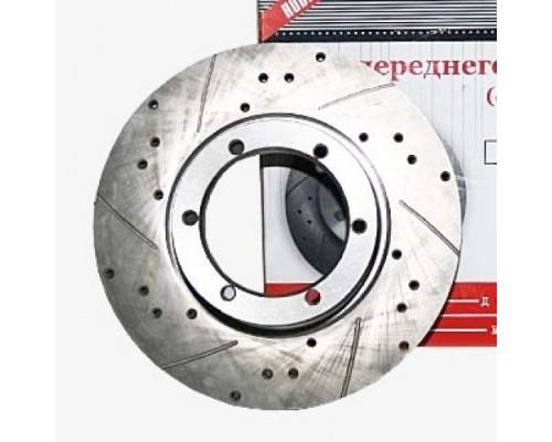 Диск тормозной ГАЗ-3302 104 мм правый скоростной ZK