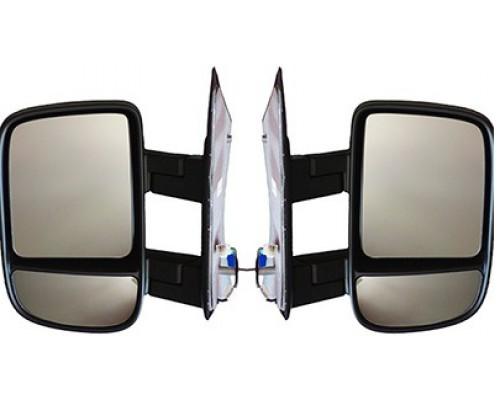 Зеркала ГАЗ-3302 NEXT обогрев черный к-т