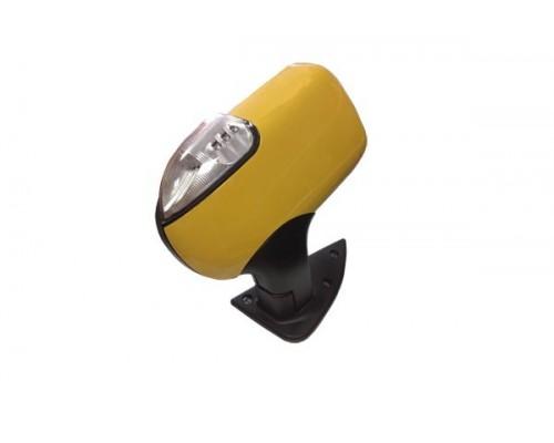 Зеркала ГАЗ-3302 ручной привод без обогрева повтор Желтый